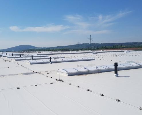 Blitzschutzkonzepte Industrie-Gebäude