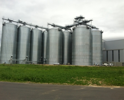 Getreidelager, Blitzschutz